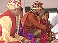 Groom's Mother and Father in Haldi Festival 07.jpg