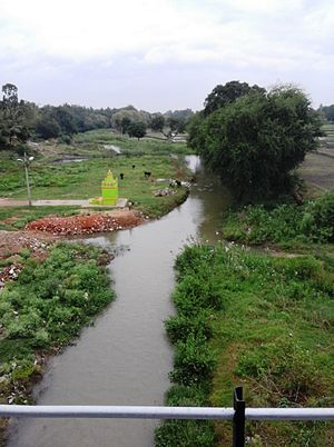 Mysore district - Gundal river at Nanjangud