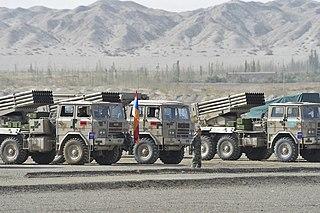 PHL-81 Self-propelled rocket launcherRocket artillery