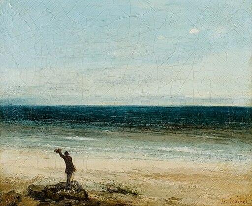 Gustave Courbet - Le bord de mer à Palavas (1854)