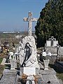 György Jámbor grave †1970, 2019 Kisbér.jpg