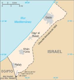 Franja de Gaza - Historia y situación actual