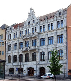 Supreme Administrative Court of Finland - The Supreme Administrative Court building in Helsinki