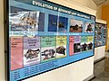 HAL projects and timelines at HAL Heritage Centre, Bengaluru, India (Ank Kumar) 02.jpg