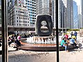 HK 中環 Central 交易廣場 Exchange Square 亨利摩爾 Henry Moore sculpture Oval with Points December 2019 SS2 02.jpg