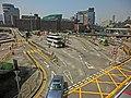 HK Hung Hom Railway Station Bus Terminus 紅磡鐵路巴士站 n HKPolyU view from The Metropolis Mar-2013.JPG