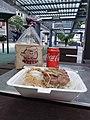 HK TKL 調景嶺 Tiu Keng Leng 彩明街市 Choi Ming Market food 咸魚肉餅盒飯 Salted fish pork meat box rice dinner April 2019 SSG 05.jpg