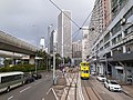 HK tram view Shek Tong Tsui to Sai Ying Pun Des Voeux Road West Sheung Wan Des Voeux Road Central September 2020 SS2 03.jpg