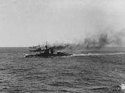 HMS Agincourt in the North Sea 1915