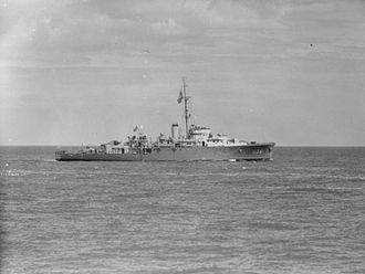 HMS Leith (U36) - Image: HMS Leith