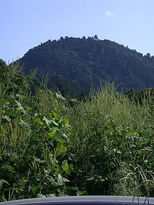 Hachiōji Castle - The mountain on which Hachiōji Castle is located