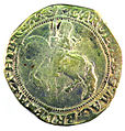 Halfcrown of Charles I - Counterfeit (YORYM-1995.109.10) obverse.jpg