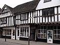 Halftimbered Shops, Friar Street, Worcester - geograph.org.uk - 1777461.jpg