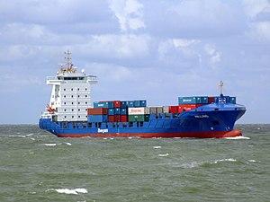 Halland IMO 9322554 approaching Port of Rotterdam 29-Jul-2007.jpg