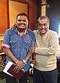 Hamsalekha and Chintan Vikas.jpg
