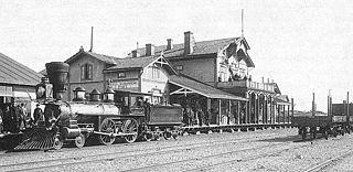 Hanko–Hyvinkää railway railway line in Finland