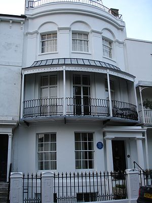 Harold Pinter - Pinter's house in Worthing, 1962–64