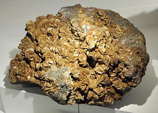 Siderite carbonate mineral