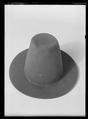 Hatt av svart filt - Livrustkammaren - 44476.tif