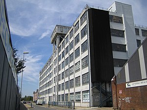 Old Vinyl Factory - Enterprise House, part of the complex of former EMI buildings