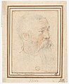 Head of Bearded Man (recto); Head of a Girl (verso) MET DP159674.jpg
