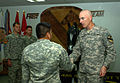 Healing the wounds of war, Operation Proper Exit warriors visit Multi-National Division-Baghdad DVIDS183831.jpg