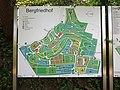 Heidelberg, Bergfriedhof (Heidelberg) Lageplan- Abteilungen Grabfelder, Hinweisschilder- Verkehrsanbindung und Einrichtungen.JPG