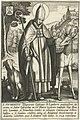 Heilige Hubertus Heiligen uit de Lage Landen (serietitel) Sanctorvm Galliae Belgicae (serietitel), RP-P-1887-A-11793.jpg
