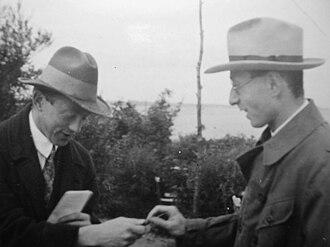 Eugene Wigner - Werner Heisenberg and Eugene Wigner (1928)