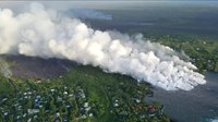 File:Helicopter overflight of Kīlauea Volcano's lower East Rift Zone on June 4, 20....webm