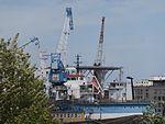 Helipad of Bluefort Port of Lahesuu Tallinn 2 July 2016.jpg