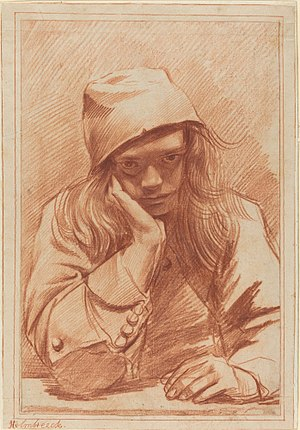 Dirck Helmbreker - Selfportrait.