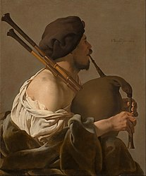 Hendrick ter Brugghen - Bagpipe Player - Google Art Project.jpg