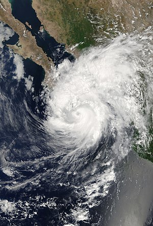 Hurricane Henriette (2007) - Image: Henriette 04 sept 2007 1745Z