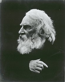 Longfellow in 1868 by Julia Margaret Cameron