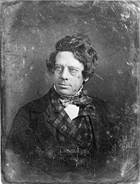 Henry Inman, daguerreotype by Matthew Brady, c. 1844.