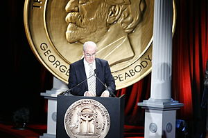 60 Minutes - Henry Schuster at the 68th Annual Peabody Awards for 60 Minutes-Lifeline