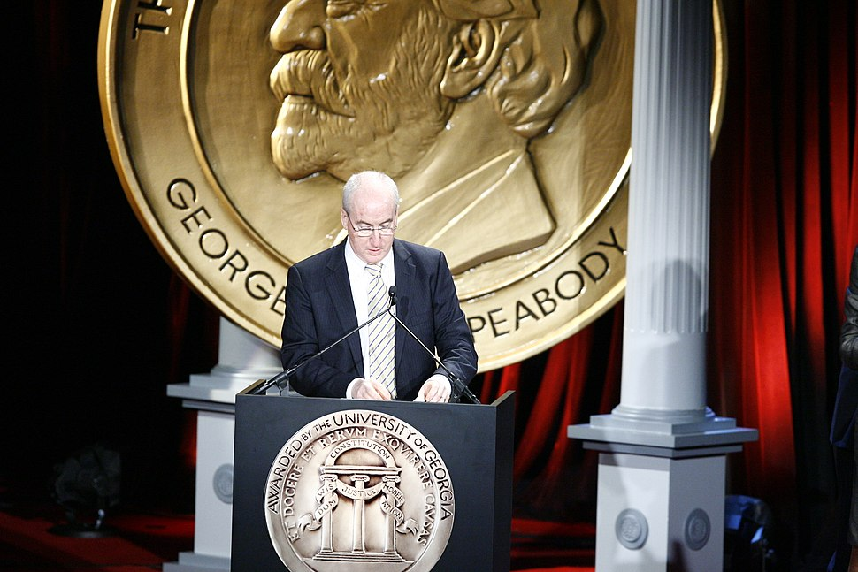 Henry Schuster at the 68th Annual Peabody Awards for 60 Minutes-Lifeline