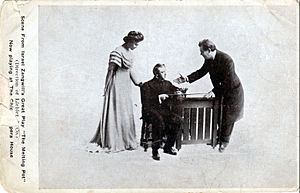 Henry Vogel - Vogel (right) in The Melting Pot with Walker Whiteside (middle) and unidentified actress (left)