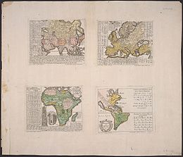 Hensel Polyglot, Maps of the Continents 1741 Cornell CUL PJM 1022 01.jpg