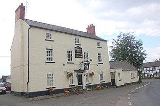 Chirbury - The Herbert Arms in the village.