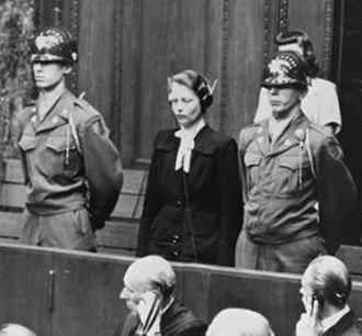 Ethics committee - Dr. Herta Oberheuser being sentenced at Nuremberg