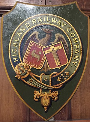 Highland Railway - Image: Highland railway shield