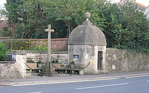 Village lock-up - Lock-up in Hilperton, Wiltshire