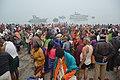 Hindu Devotees Taking Holy Dip In Ganga - Makar Sankranti Observance - Baje Kadamtala Ghat - Kolkata 2018-01-14 6507.JPG