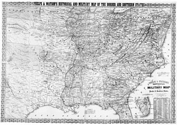 Slavery States Map.Border States American Civil War Wikipedia