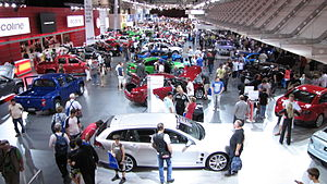 Holden stand at the 2009 Melbourne Internation...