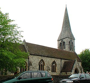 Bengeo - Holy Trinity parish church, New Road