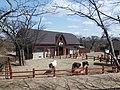 Horse stables in Akita Omoriyama Zoo.jpg