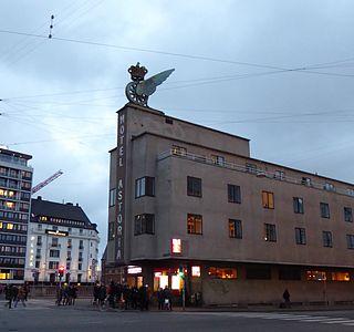 design hotel located next to the Central Station in Copenhagen, Denmark
